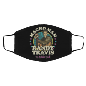 Macho Man FRandy Travis No Holdin's Back Vintage Face Mask