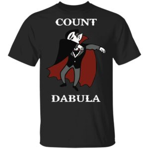Count Dabula Dab Halloween T-Shirt