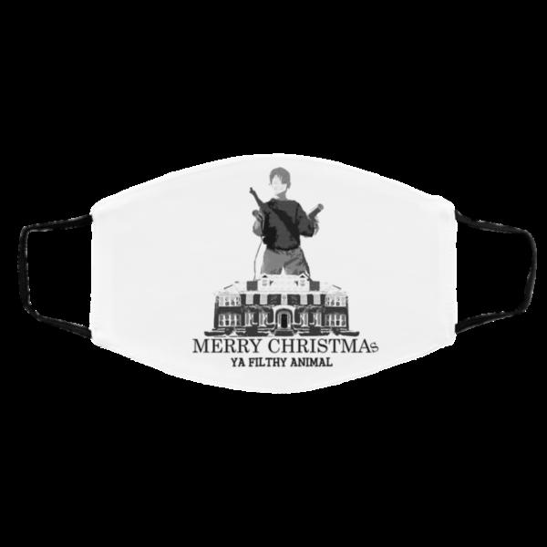Home Alonee Merry Christmas Ya Filthy Animal Face Mask