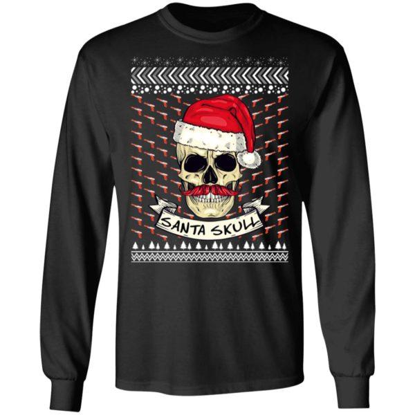 Santa Skull Ugly Christmas Sweater