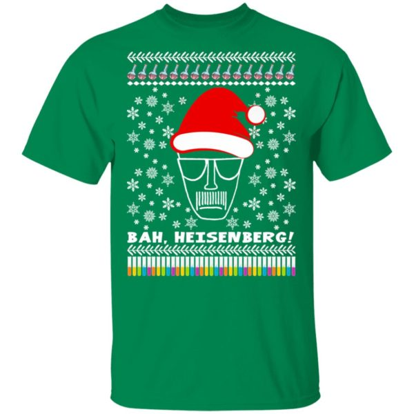 Bah, Heisenberg Humbug Walter Ugly Christmas Sweater