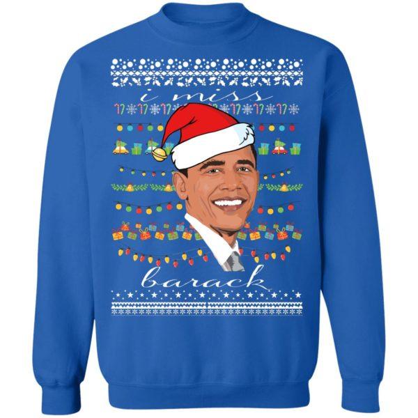 I Miss Barack Obama Ugly Christmas Sweater