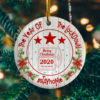 2020 The Year Of The Lockdown Decorative Decorative Christmas Ornament - Funny Holiday Gift