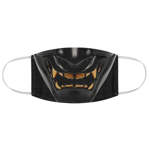 Black Mempo Face Mask