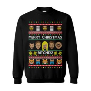 Merry Christmas Bitches! It'S Always Sunny Ugly Christmas Sweater