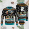 Miami Dolphins 3D Ugly Christmas Sweater