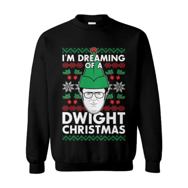 I'm Dreaming Of A Dwight Christmas Ugly Christmas Sweater