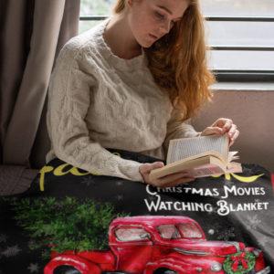 This is My Hallmark Christmas Movie Watching Fleece Blanket, Sherpa Blanket
