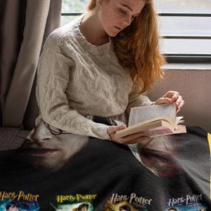 Harry Potter 7 Episodes Fleece Blanket, Sherpa Blanket