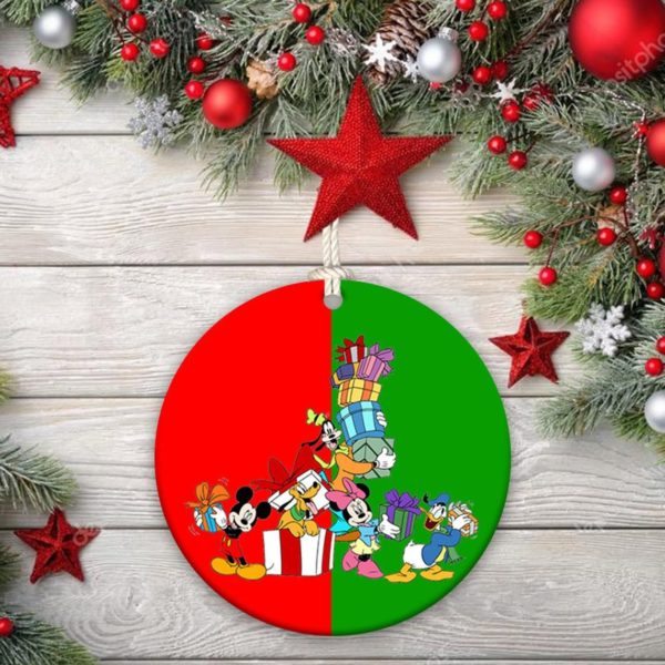 Disney Mickey Mouse Minnie, Christmas Ornament