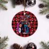 Nicki Minaj Hotties Merry Christmas Circle Ornament