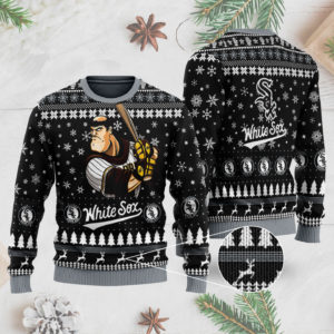 Chicago White Sox 3D Ugly Christmas Sweater