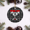Pearl Jam Merry Christmas Circle Ornament