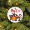 The Beatles Santa Elf Reindeer Christmas Decorative Ornament
