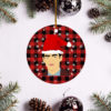 Joe Jonas Merry Christmas Circle Ornament