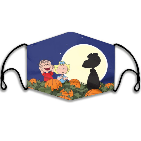 Snoopy Thanksgiving Face Mask