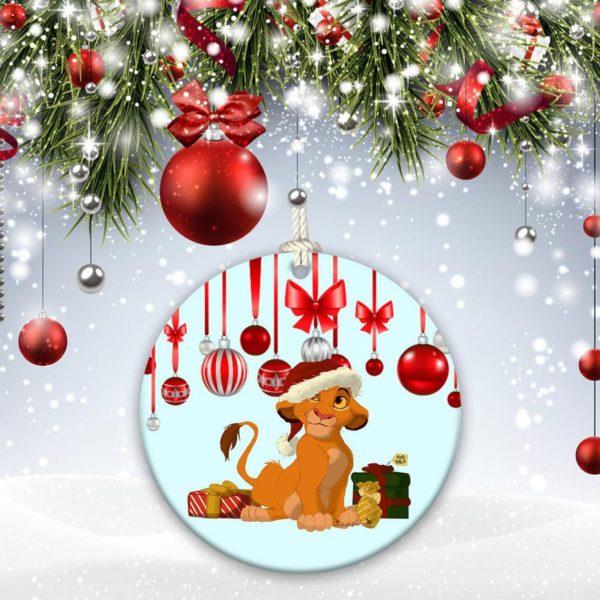 Walt Disney Christmas Decorative Ornament