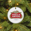 Stella Artois Merry Christmas Circle Ornament