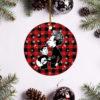 Simon and Garfunkel Merry Christmas Circle Ornament