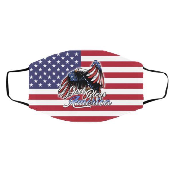 God Bless America Face Mask