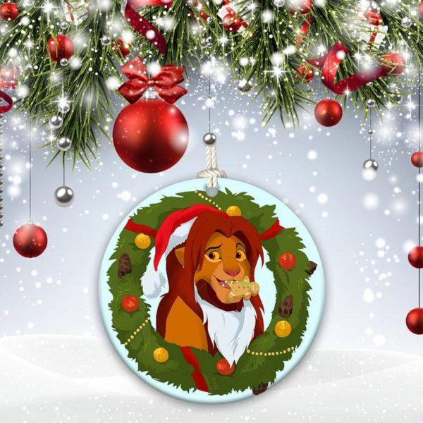 The Lion King Walt Disney, Simba Christmas Ornament