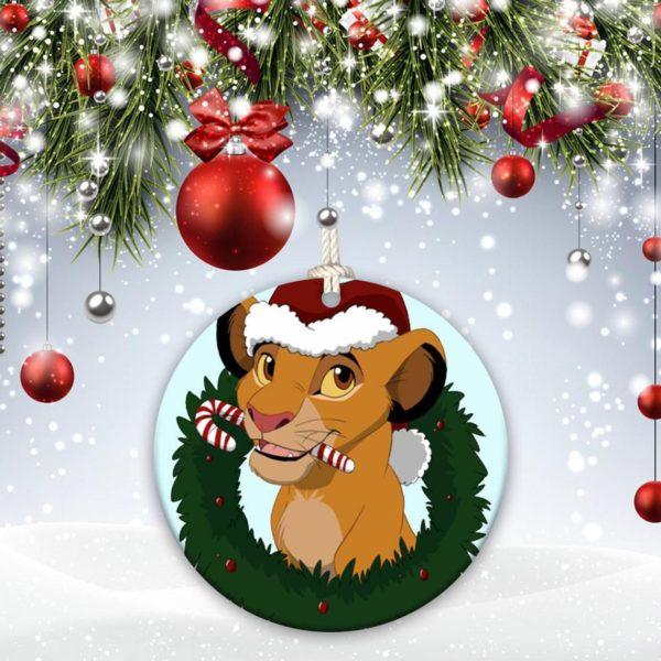 The Lion King, Walt Disney Simba Christmas Decorative Ornament