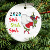 Grinch 2020 Christmas Ornament Stink Stank Stunk