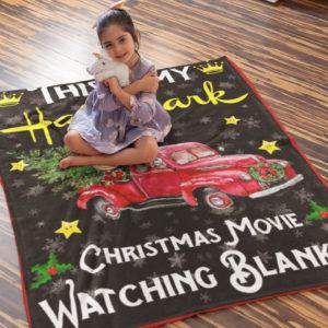 This Is My Hallmark Christmas Movies Watching Blanket Snoopy Christmas Fleece Blanket, Sherpa Blanket