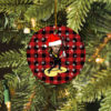 Tom Petty Merry Christmas Circle Ornament