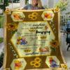 Winnie The Pooh My Sunshine Fleece Blanket, Sherpa Blanket