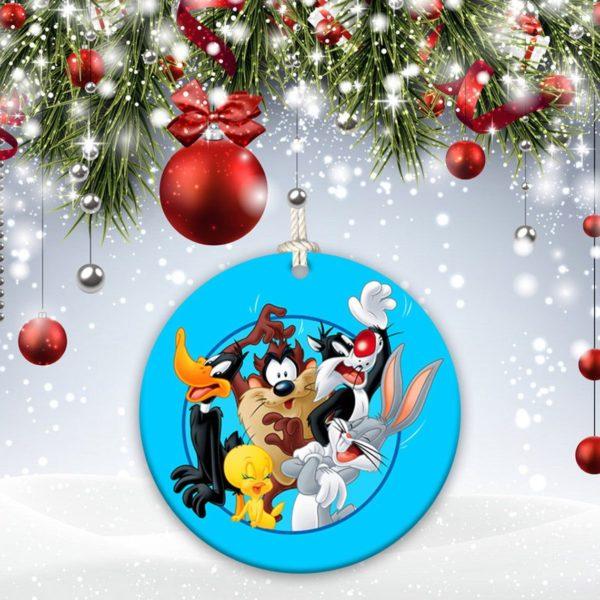 Bugs Bunny Happy Rabbit, Leon Schlesinger Christmas Decorative Ornament