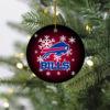 Buffalo Bills Christmas Merry Christmas Circle Ornament