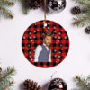 Tamer Hosny Merry Christmas Circle Ornament