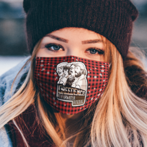 Creedence Clearwater Revival Merry Christmas Face Mask