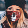 Indiana Massara Merry Christmas Face Mask