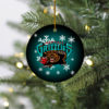 Memphis Grizzlies Merry Christmas Circle Ornament