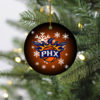 Phoenix Suns Merry Christmas Circle Ornament