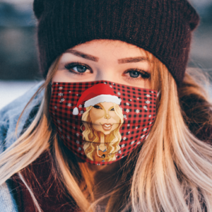 Taylor Swift Merry Christmas Face Mask