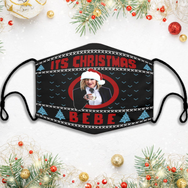Schitts Creek Its Christmas Bebe Face Mask