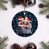 The Beach Boys Merry Christmas Circle Ornament