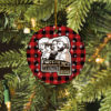 Creedence Clearwater Revival Merry Christmas Circle Ornament