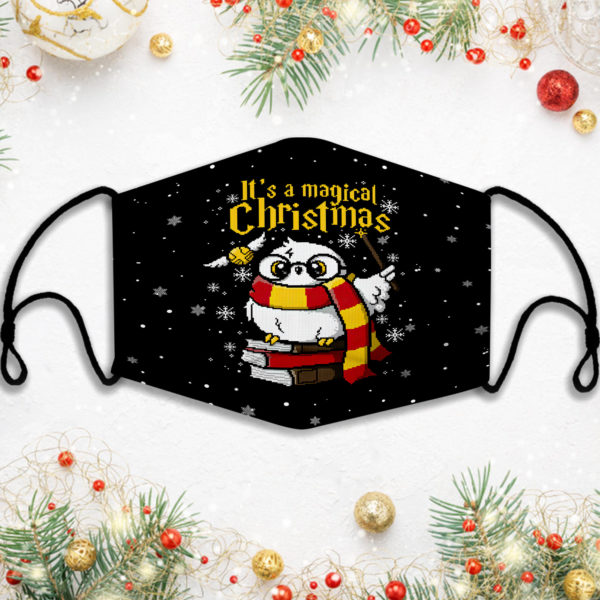 Its A Magical Harry Potter Ugly Christmas Face Mask