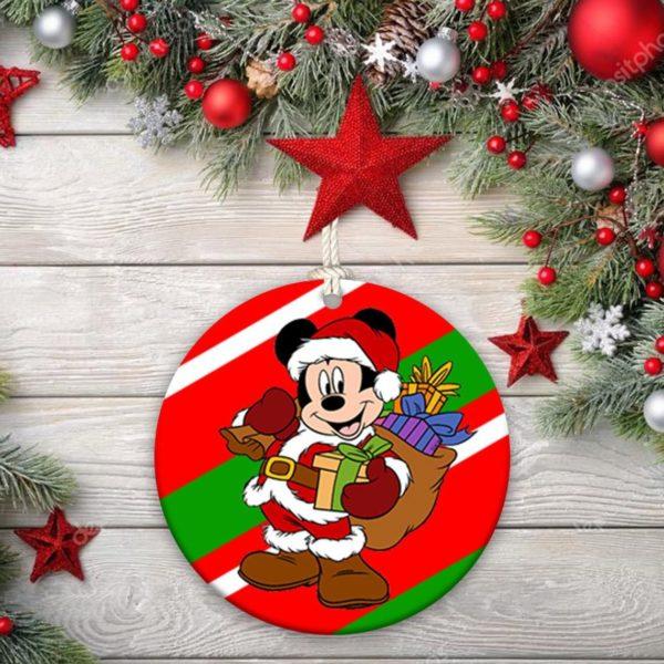 Disney Mickey Mouse Minnie Christmas Decorative Ornament