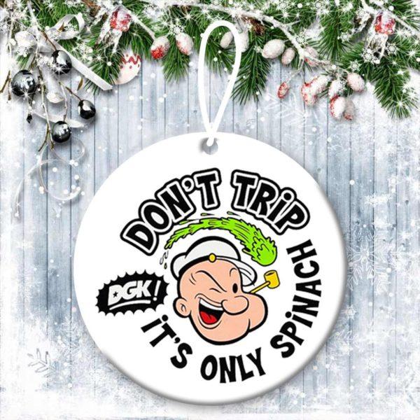 Popeye Christmas Ornaments
