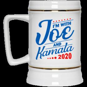 Im With Joe Biden And Kamala Harris 2020 Ceramic Coffee Mug Travel Mug Water Bottle
