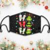 Hohoho Grinch Christmas Face Mask