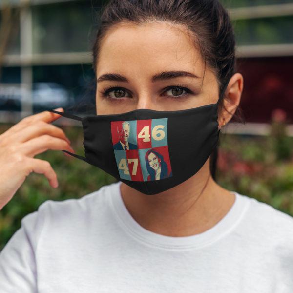 Biden Harris 2020 46th 47th President Face Mask