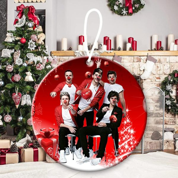 One Direction 1, Niall Horan, Liam Payne, Harry Styles, Louis Tomlinson, Zayn Malik, Up All Night Christmas Decorative Ornament