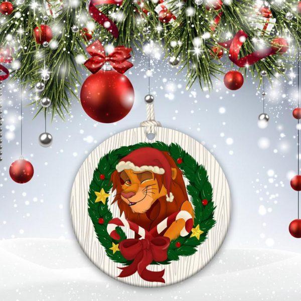 Walt Disney The Lion King Christmas Decorative Ornament