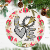 Love Cross John Christmas Ornament